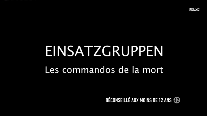 Einsatzgruppen: Les commandos de la mort [TVRIP]