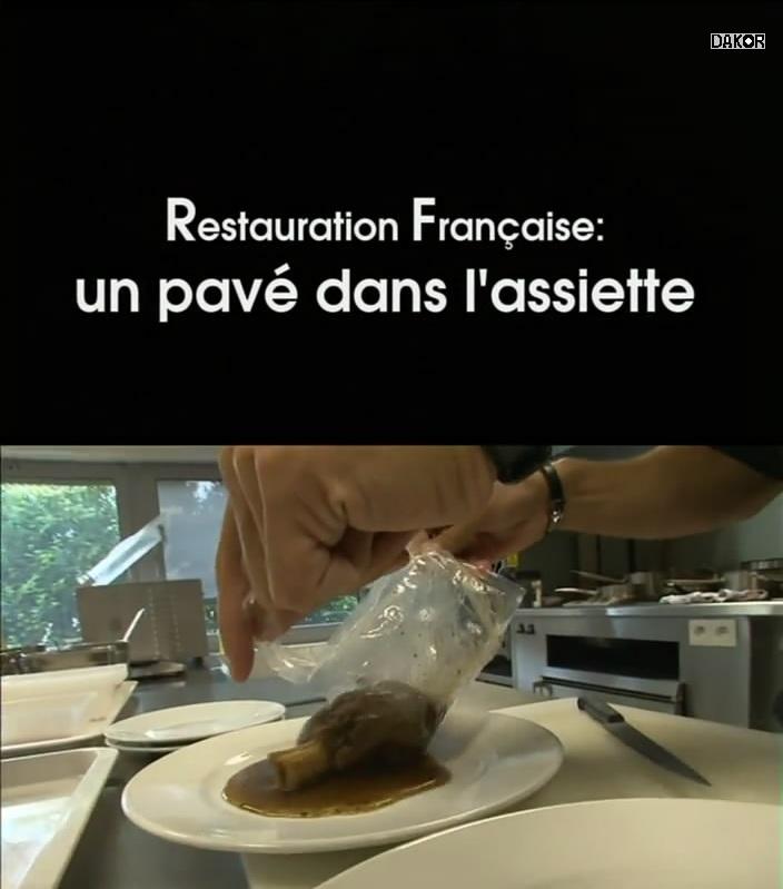 Restauration française, un pavé dans l'assiette [TVRIP]