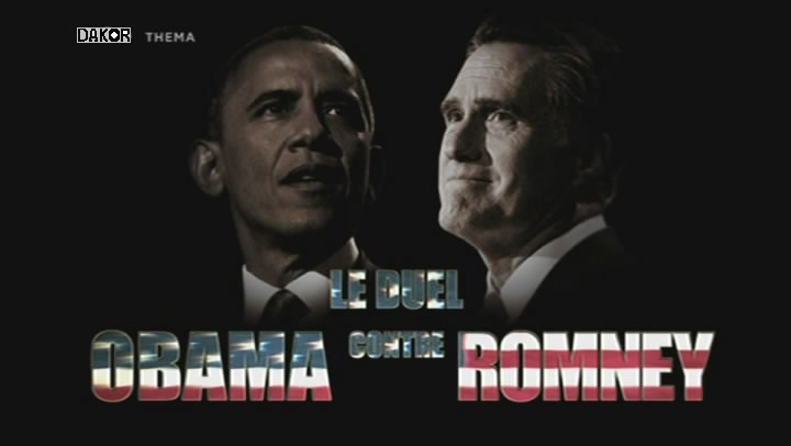 Le duel Obama contre Romney [TVRIP]
