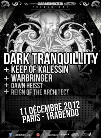 Dark Tranquillity @ Paris