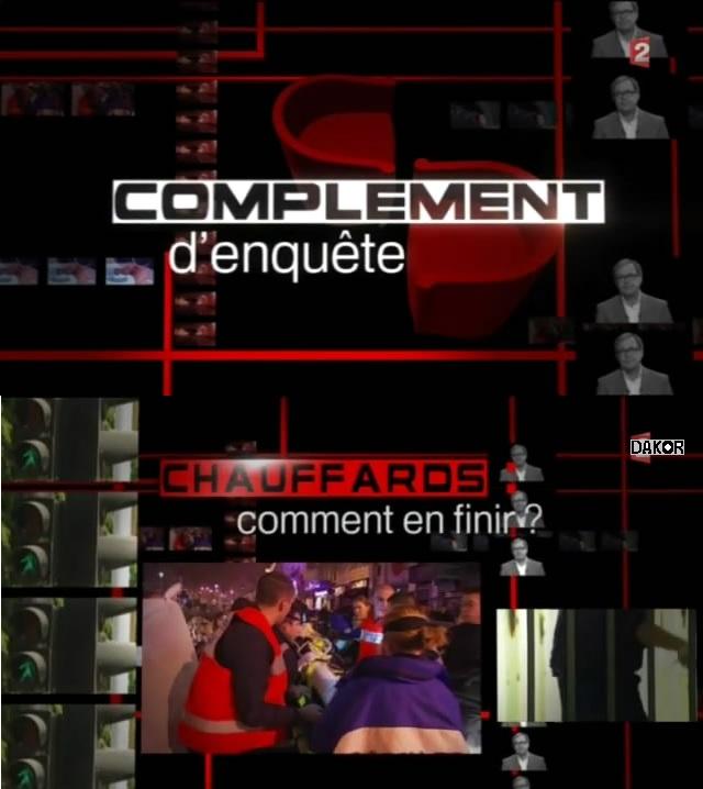 Complément d'enquête - Chauffards : comment en finir ? - 01/11/2012 [TVRIP]