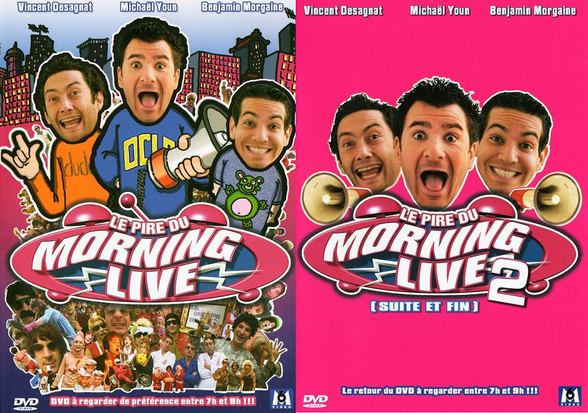 Le Pire Du Morning Live Vol.1 & 2 - [DVDRIP]
