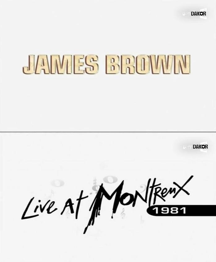 James Brown - Live a Montreux 1981 [TVRIP]