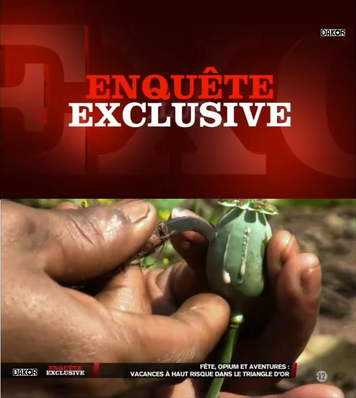 Enquête exclusive - Fêtes, opium et aventures : vacances à haut risque dans le Triangle d'or - 04/11/2012 [TVRIP]