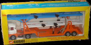 Scammell Handyman Mk III + Carrimore Tri-deck Mk V Corgi-Toys