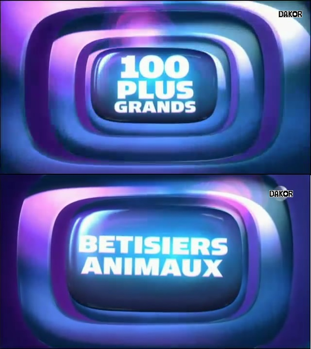 Les 100 plus grands - Betisiers animaux [TVRIP]