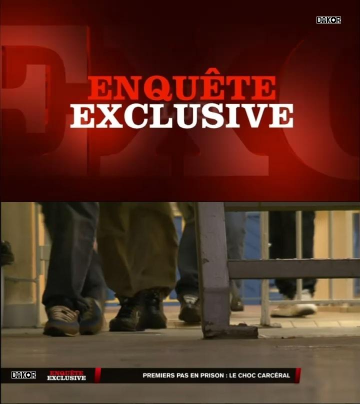 Enquête exclusive - Premiers pas en prison : le choc carcéral - 11/11/2012 [TVRIP]