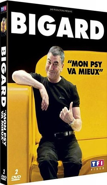 Telecharger Jean-marie Bigard : mon psy va mieux [DVDRIP]