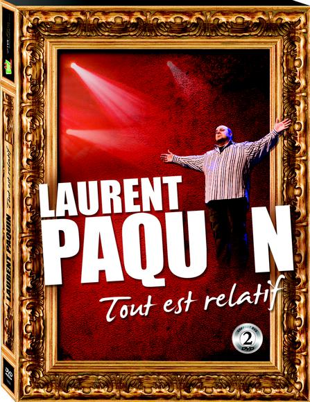 Laurent Paquin - Tout est relatif [DVDRIP]