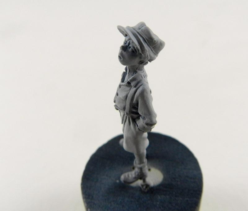 Petit garçon avec képi 1914 ( piou piou) FINI LE 29/11/2012 12111412075315063810550899