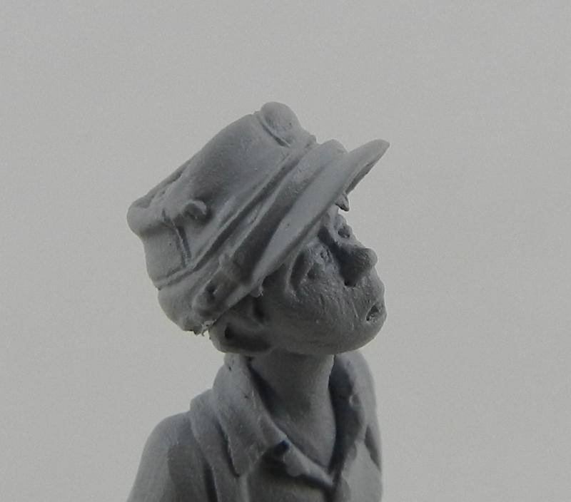 Petit garçon avec képi 1914 ( piou piou) FINI LE 29/11/2012 12111412081415063810550902