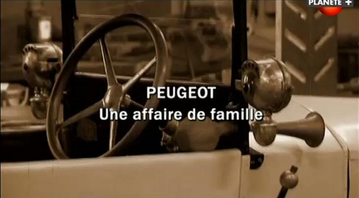 Peugeot: Une Affaire De Famille [TVRIP]