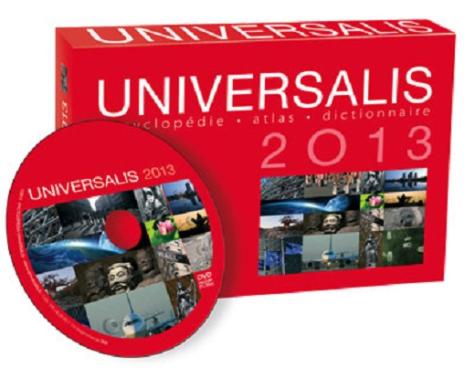 Encyclopédie Universalis 2013 + CD d'identification [PC]