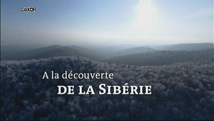 A la découverte de la Sibérie - 17.11.2012 [TVRIP]