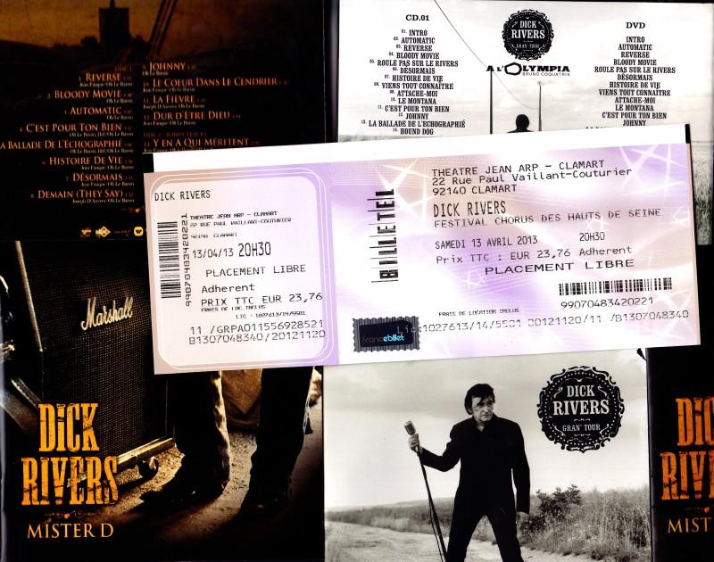 """Album live """"GRAN' TOUR"""" (2012) de DICK RIVERS par JEAN-WILLIAM THOURY dans """"ROCK&FOLK"""" (n°545, janvier 2013) 12112009170614236110576946"""