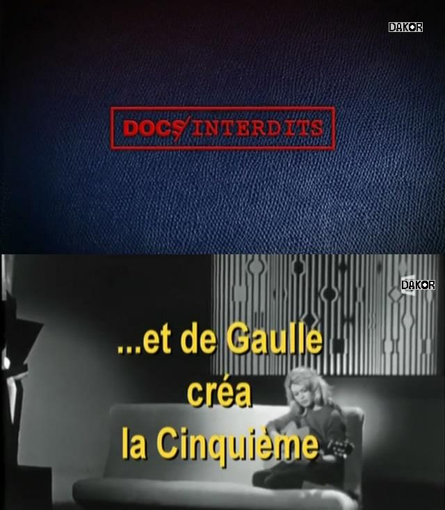 Et De Gaulle créa la Cinquième [TVRIP]
