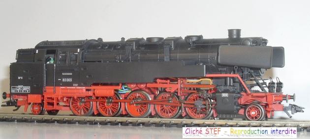 BR 85 une machine lourde et puissante, comme excellaient les ingénieurs allemands 1211220533008789710582274