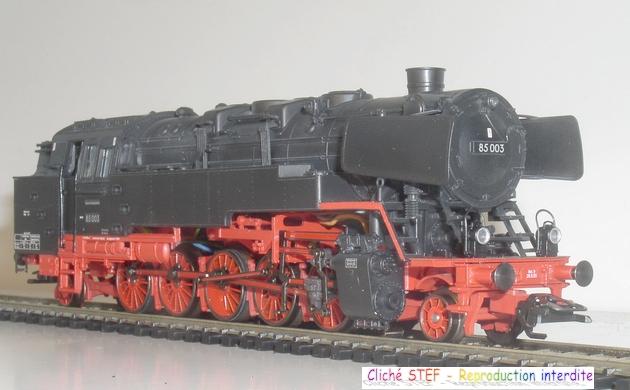 BR 85 une machine lourde et puissante, comme excellaient les ingénieurs allemands 1211220533018789710582275