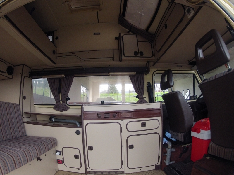 T3 joker westfalia for Interieur westfalia t3
