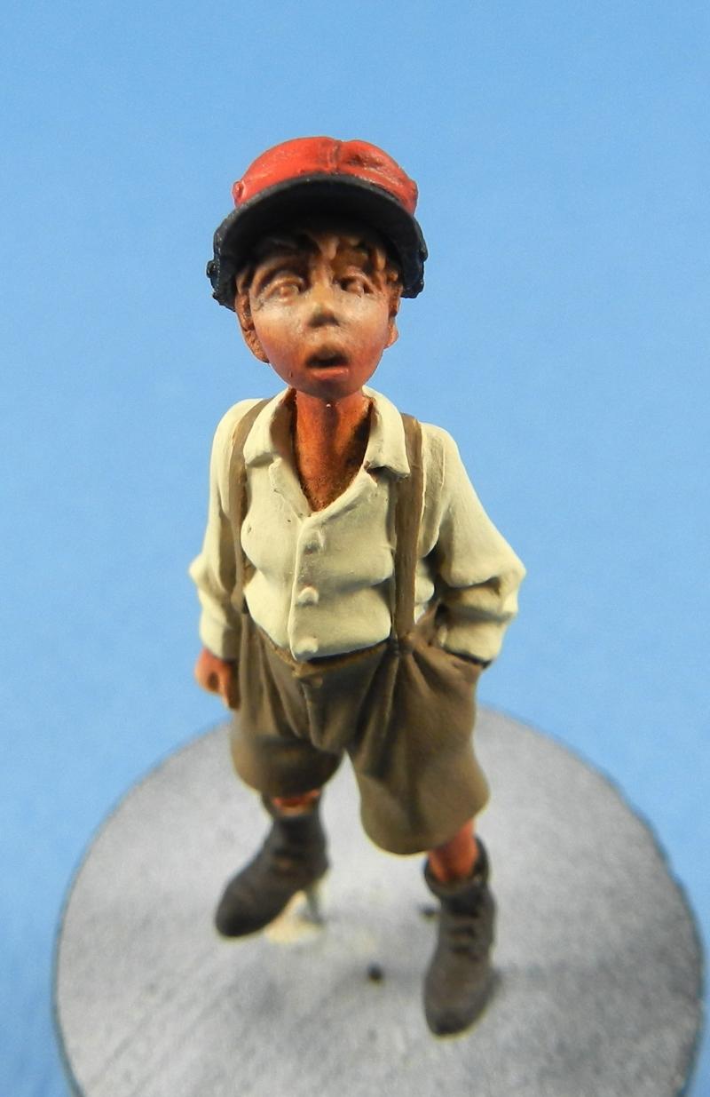 Petit garçon avec képi 1914 ( piou piou) FINI LE 29/11/2012 12112706330115063810601929