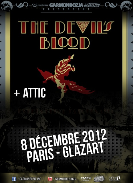 The Devil's Blood @ Paris