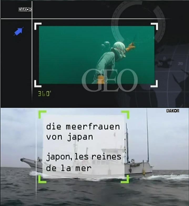 360°GEO - Japon, les reines de la mer [TVRIP]