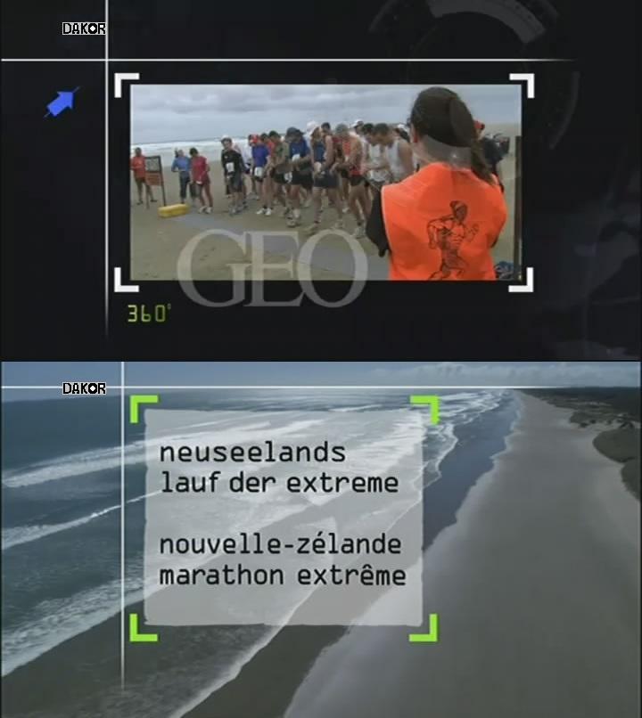 360° GEO - Nouvelle-Zélande, marathon extrême [TVRIP]