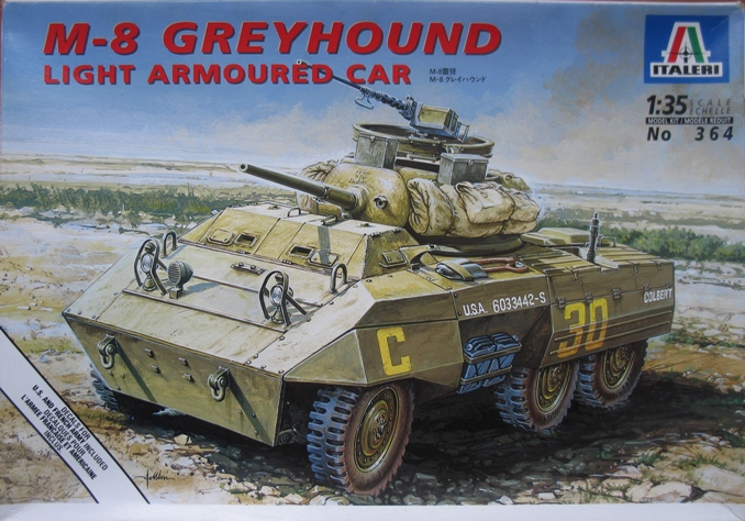 M8 greyhound Italeri 1/35 1212100409366670110649244