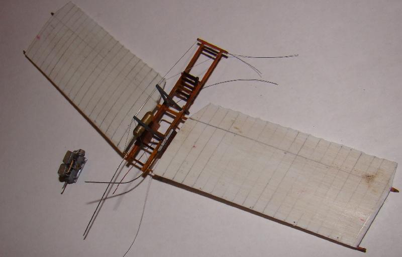 Spin - Fokker Spin III au 1/72ème (scratch) Terminé 12121006381610331810649842