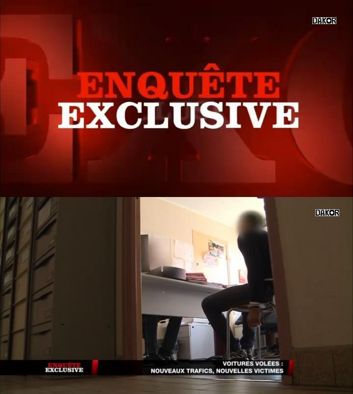 Enquête exclusive - Voitures volées : nouveaux trafics, nouvelles victimes - 09/12/2012 [TVRIP]