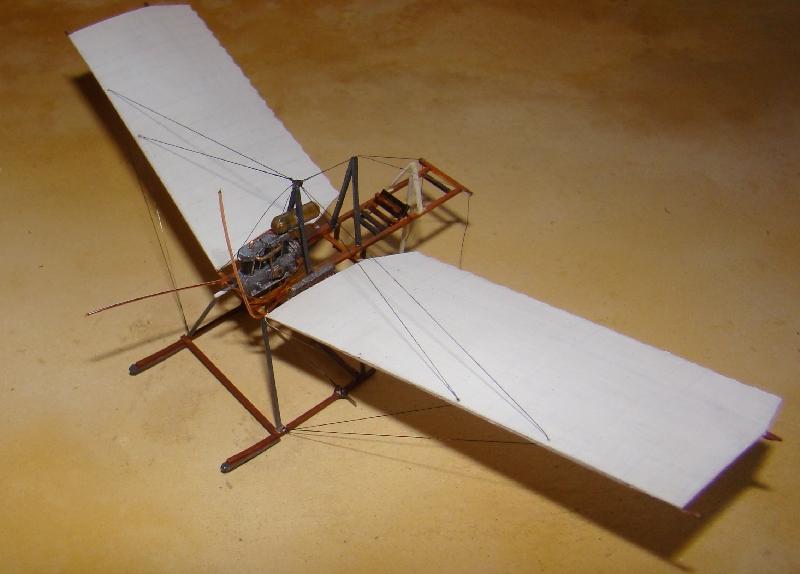 Spin - Fokker Spin III au 1/72ème (scratch) Terminé 12121106481610331810653556