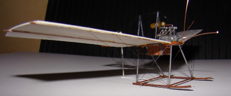 Spin - Fokker Spin III au 1/72ème (scratch) Terminé 12121106482810331810653557