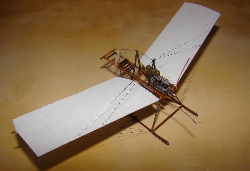 Spin - Fokker Spin III au 1/72ème (scratch) Terminé 12121106484510331810653558