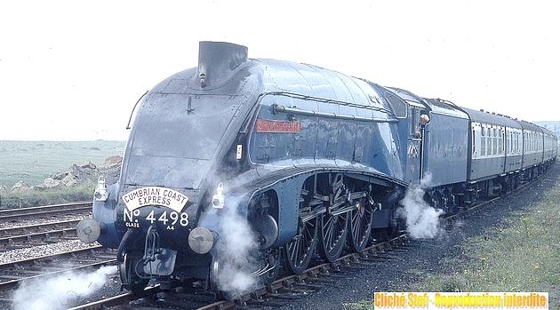 Des machines mythiques : les 231 A4 du LNER 1212110935118789710654111