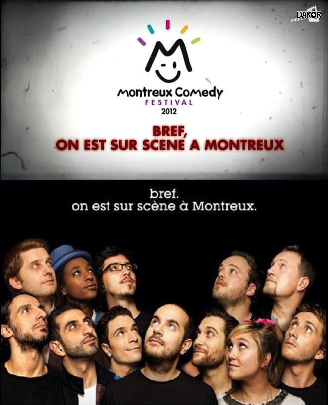 Montreux Comedy Festival 2012 - Bref, on est sur scene a Montreux [TVRIP