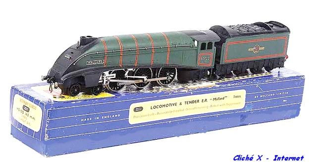 Des machines mythiques : les 231 A4 du LNER 1212130826528789710660640