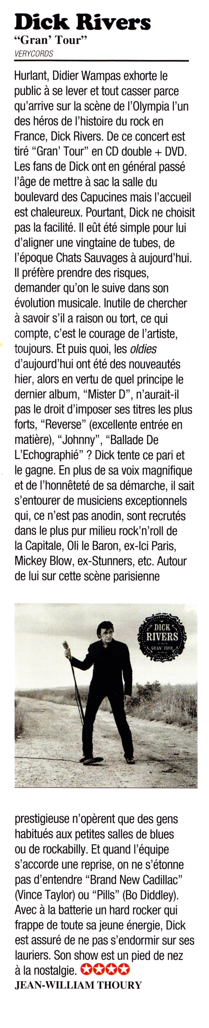 "DICK RIVERS ""Mister D Tour"" 2011/2013 : compte rendu (Casino de Paris, Olympia, Noisy, Clamart) 12121508091515789310668656"