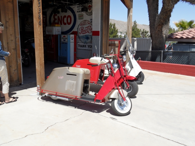 Scooter des 1950's & 1960's 12121708145115316310675645