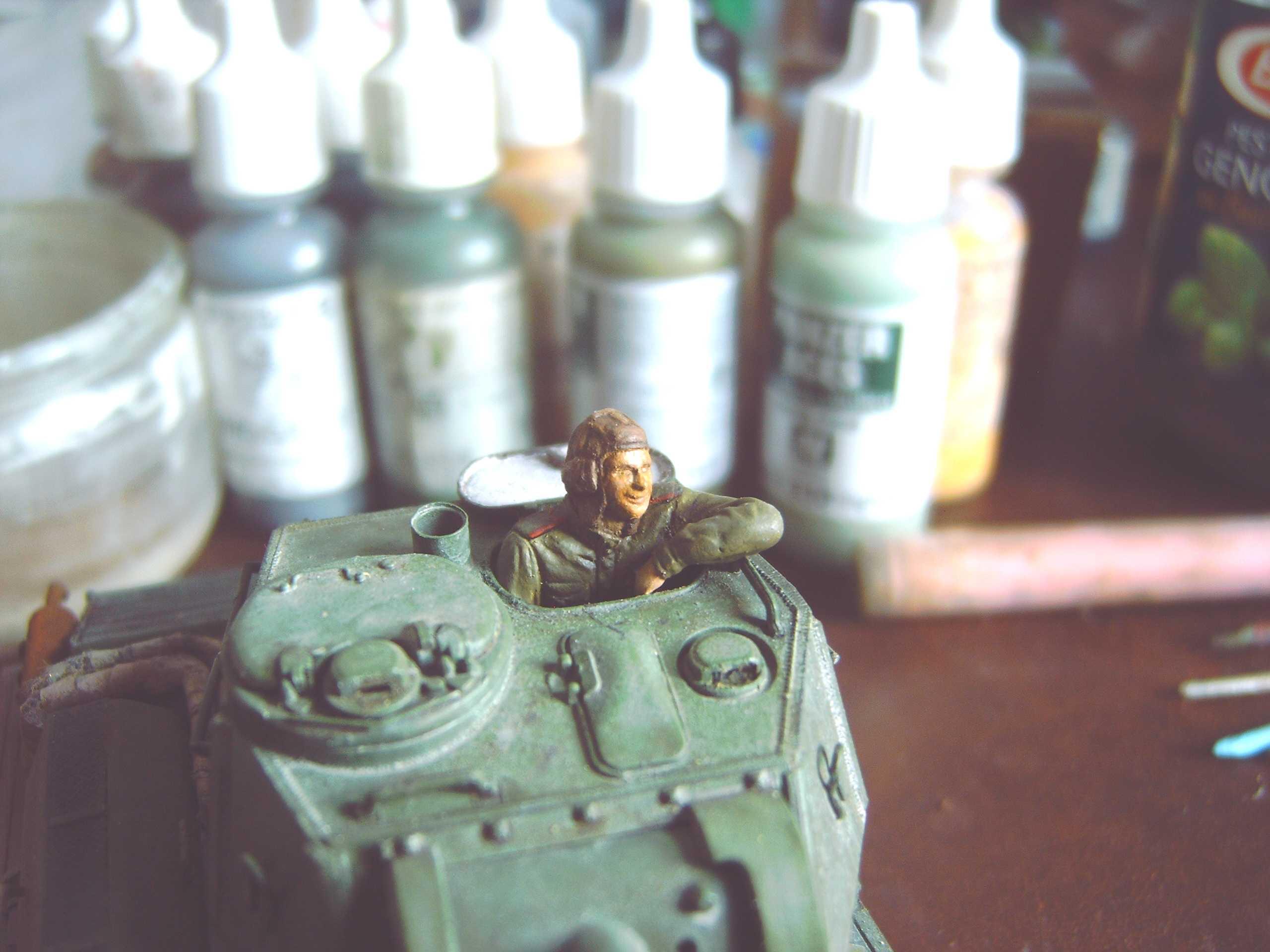 Tankiste russe Tamya 1/35 12122001224315273410682808