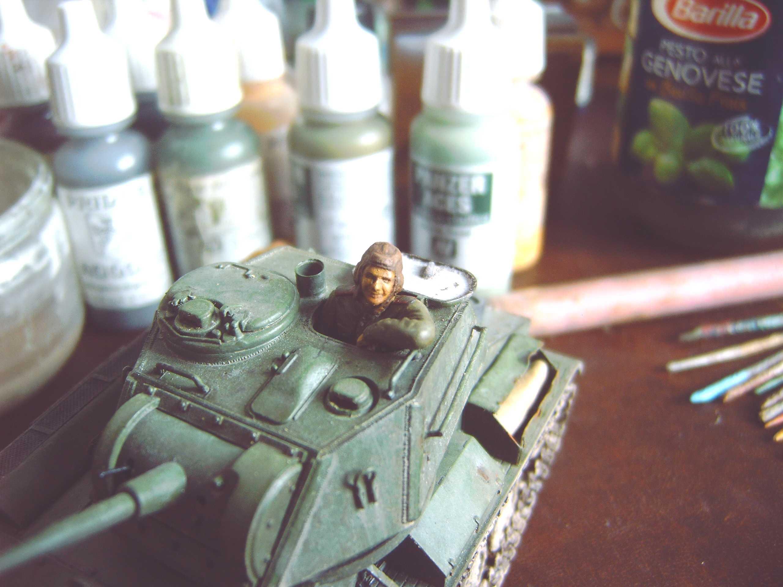 Tankiste russe Tamya 1/35 12122001224315273410682809