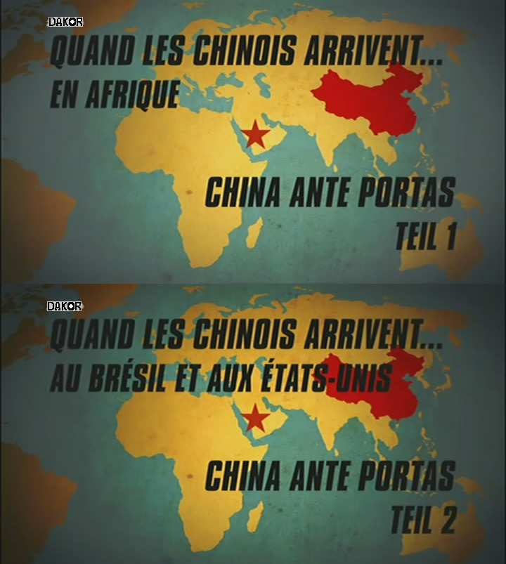 Quand les Chinois arrivent... [2/2] [TVRIP]