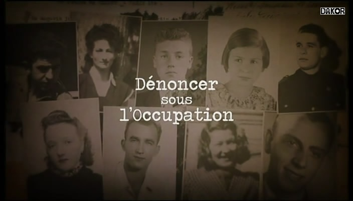 Dénoncer sous l'Occupation - 19.12.2012 [TVRIP]