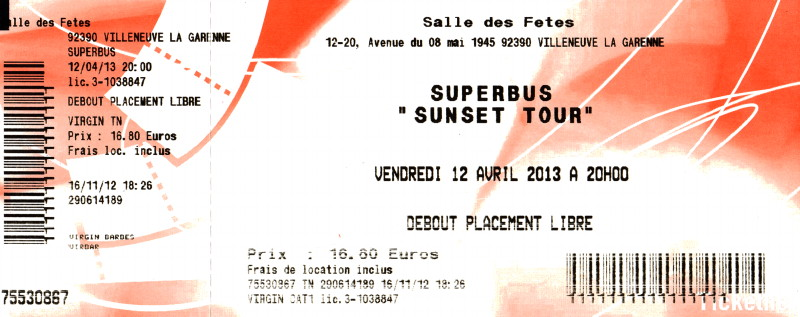 """Les concerts et nouveaux albums de 2013 (par """"FG"""") 12122110002315789310686815"""