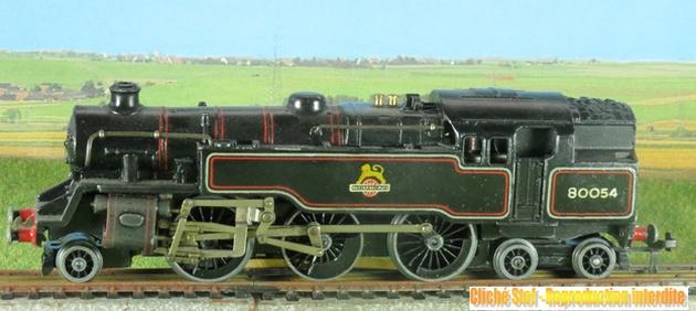 Hornby Dublo 132T type standard 4 MT des British Railways 1212241051168789710695422