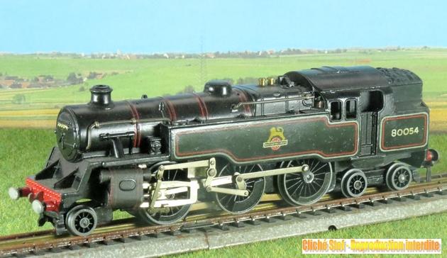 Hornby Dublo 132T type standard 4 MT des British Railways 1212241051198789710695424