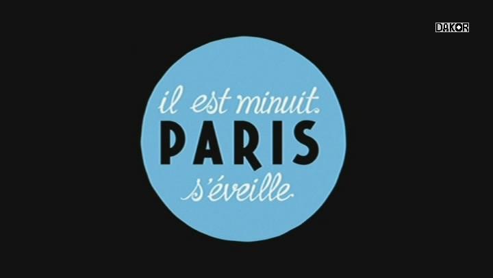 Il est minuit, Paris s'éveille [TVRIP]