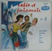 BEDOS JACQUES - Sabir et Pataouète N° 8 - 45T (EP 4 titres)