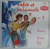 BEDOS JACQUES - Sabir et Pataouète N° 9 - 45T (SP 2 titres)