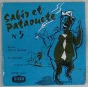 BEDOS JACQUES - Sabir et Pataouète N° 5 - 45T (SP 2 titres)