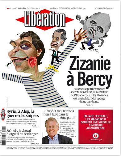 Libération Samedi 29 et dimanche 30 décembre 2012
